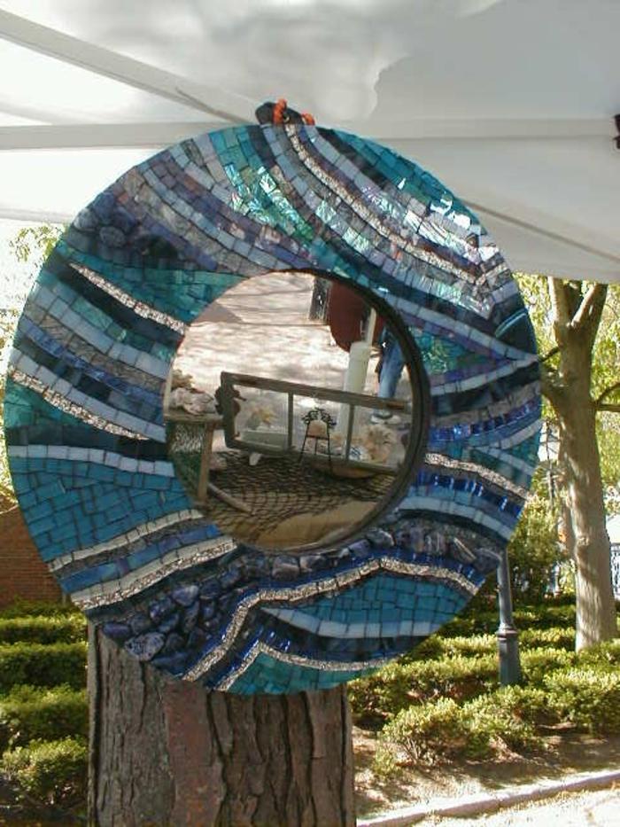 mosaik-spiegel-runde-schöne-form