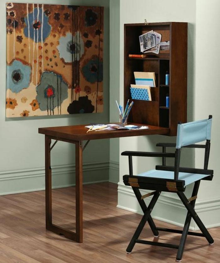 platzsparende-möbel-blauer-stuhl