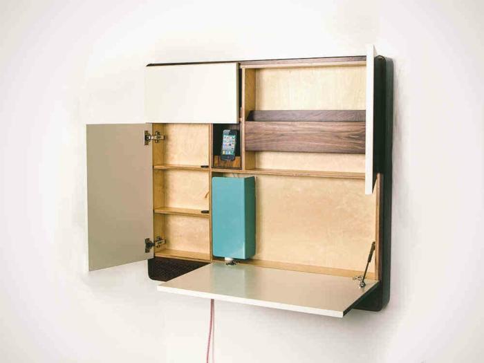 platzsparende-möbel-cooler-schrank-an-der-wand