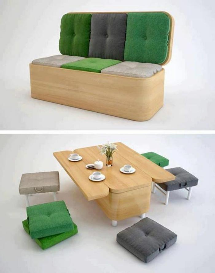 platzsparende-möbel-grünes-bett