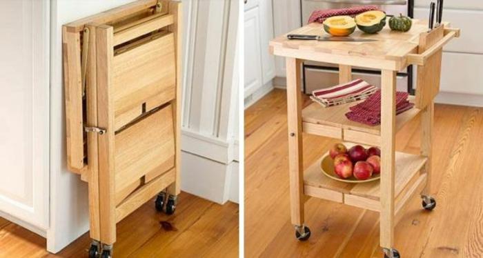 Wunderschöne platzsparende Möbel: Schreibtisch