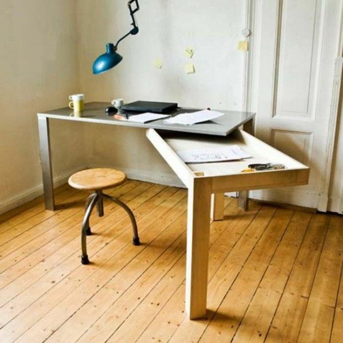 22 Kücheninsel Mit Tisch Modelle: Platzsparende Möbel: 70 Super Ideen!