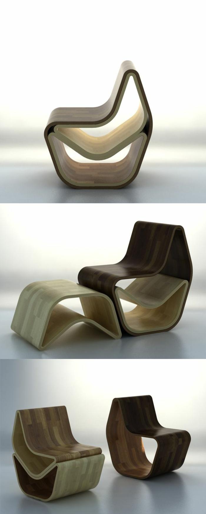 platzsparend ideen sessel de, platzsparende möbel: 70 super ideen! - archzine, Innenarchitektur