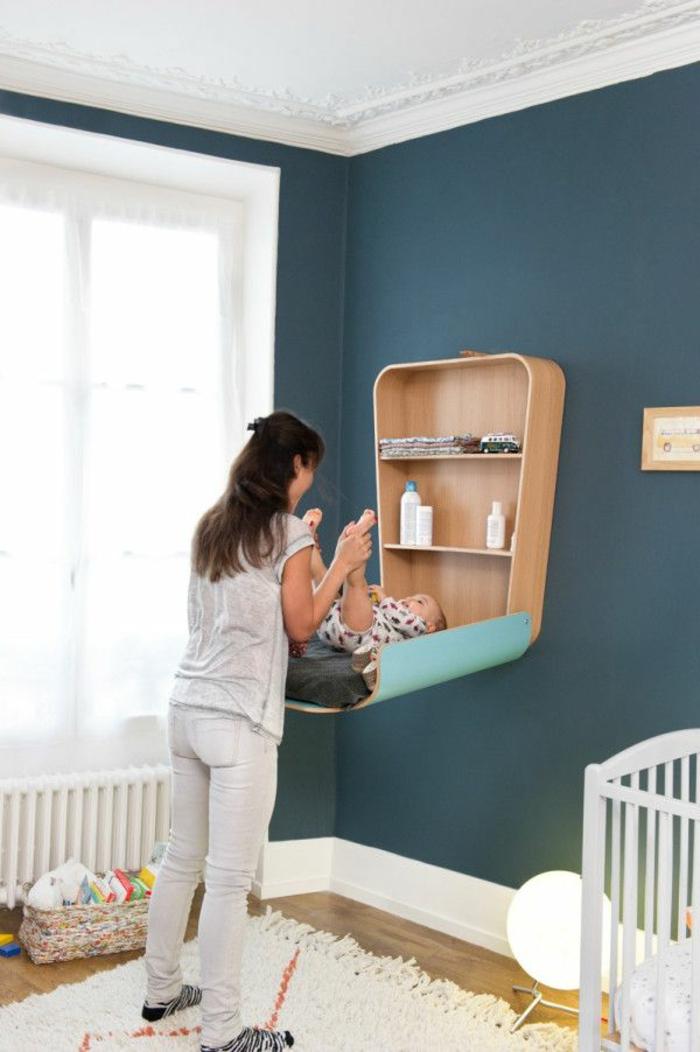 platzsparende-möbel-schönes-bett-für-babys