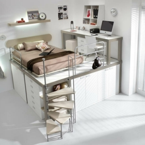 platzsparende treppen 32 innovative ideen. Black Bedroom Furniture Sets. Home Design Ideas