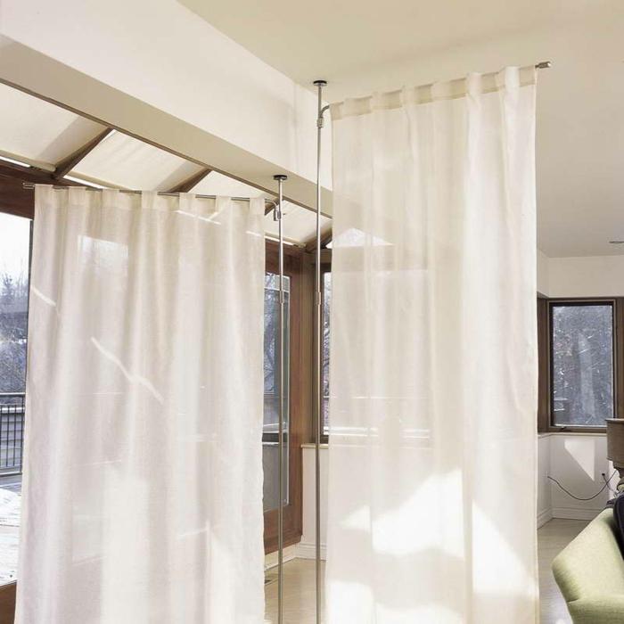raumtrenner-vorhang-weiße-schöne-farbe