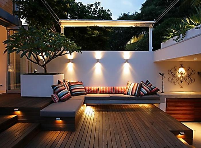 Fabulous Aussenbeleuchtung Terrasse Boden SH42