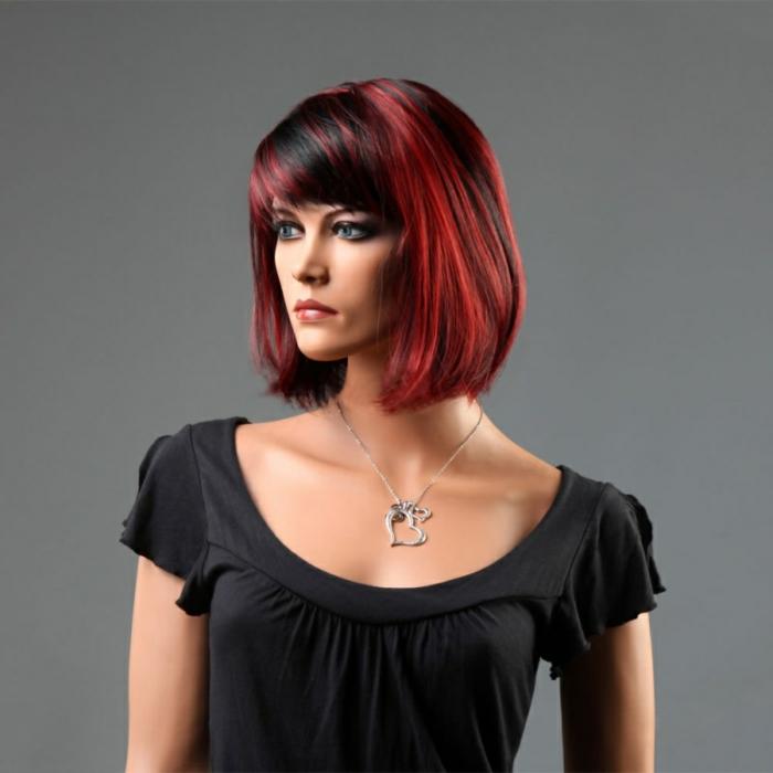 Berühmt Schwarz-rote Haare sehen cool aus! - Archzine.net &UU_65