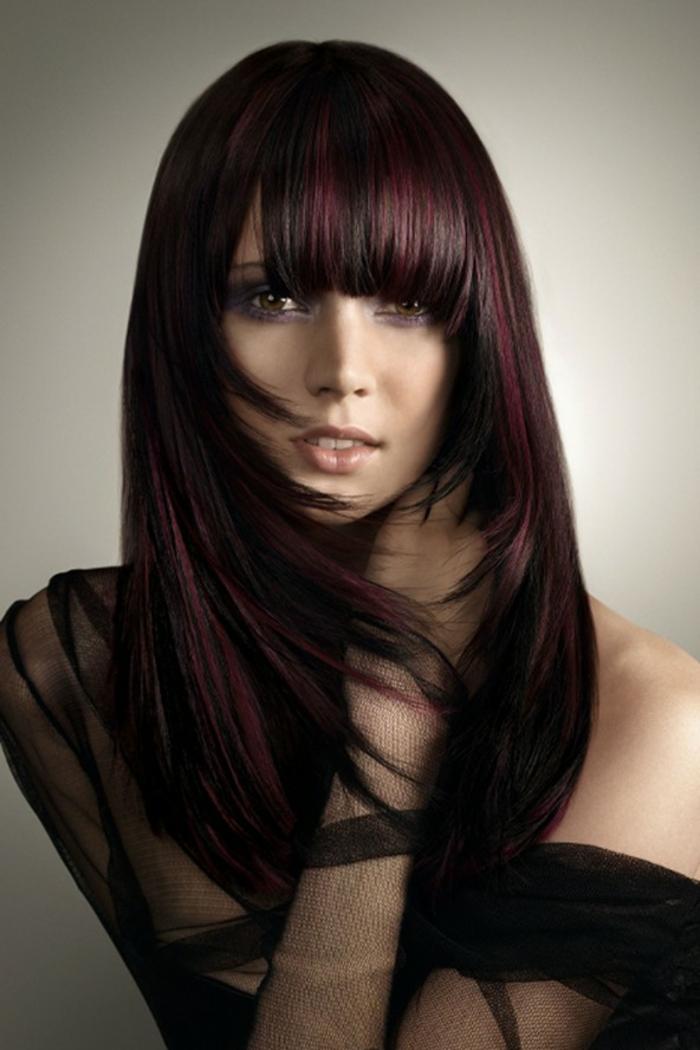 Schwarz Rote Haare Sehen Cool Aus Archzine Net