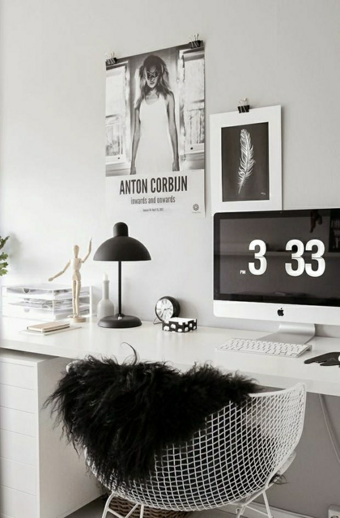 designer schreibtisch 31 wundersch ne modelle. Black Bedroom Furniture Sets. Home Design Ideas