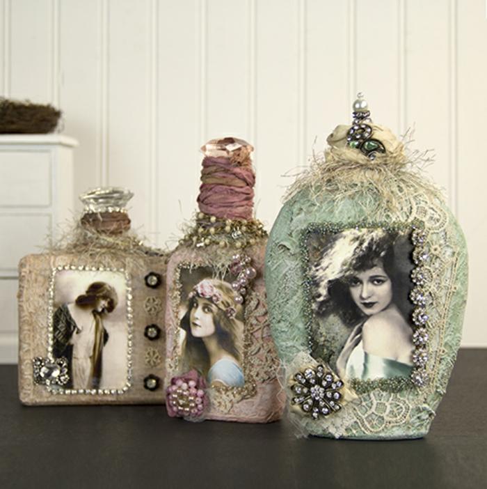 shabby-chic-bilder-drei-vasen-mit-bildern