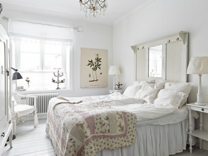 schlafzimmer im shabby chic wohnstil m belideen. Black Bedroom Furniture Sets. Home Design Ideas