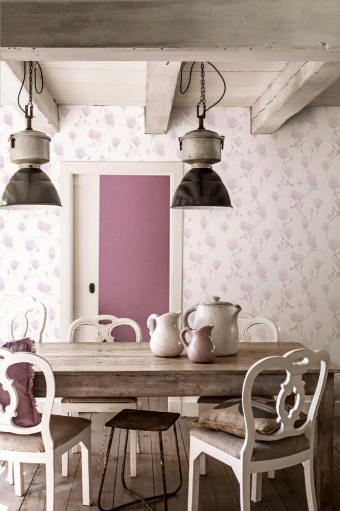 shabby-chic-bilder-zwei-hängende-lampen