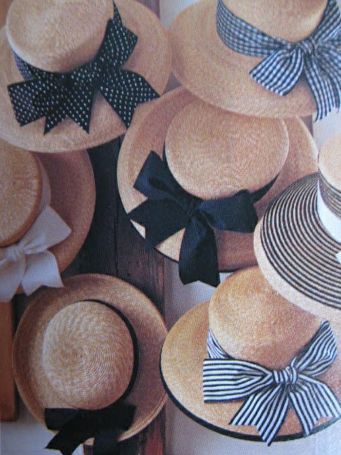 strohhüte-Bänder-Punkte-Streifen-Sommer-schick
