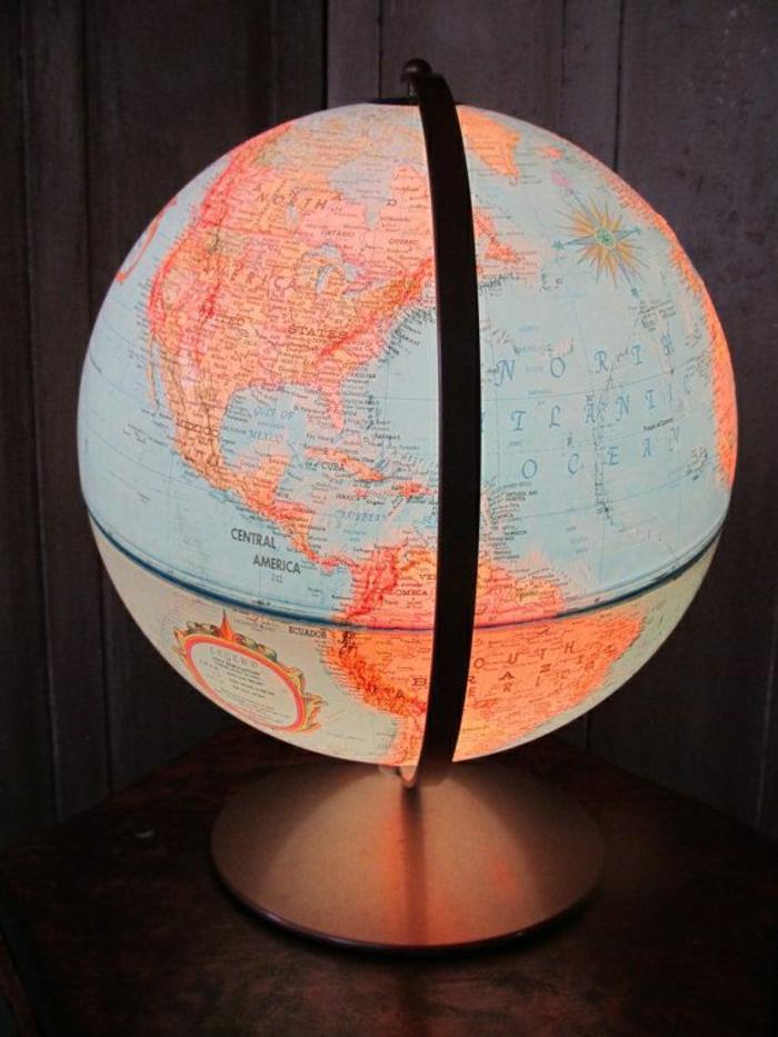 vintage-Globus-Lampe-Nachttischlampe-Leselampe