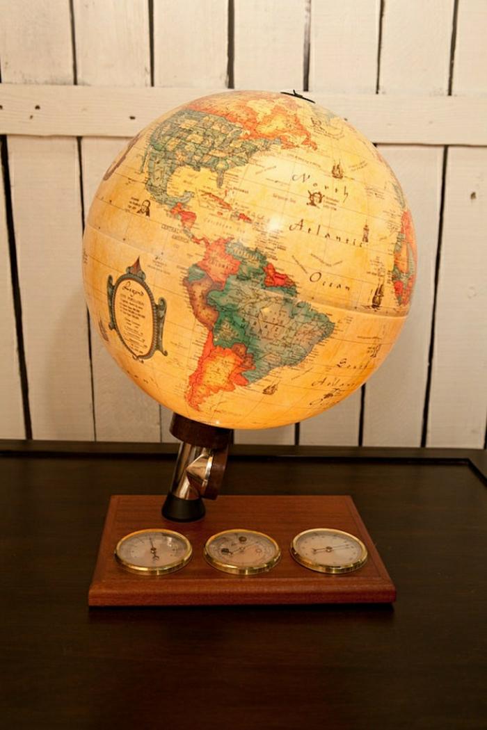 vintage-Globus-leuchtend-retro-cool