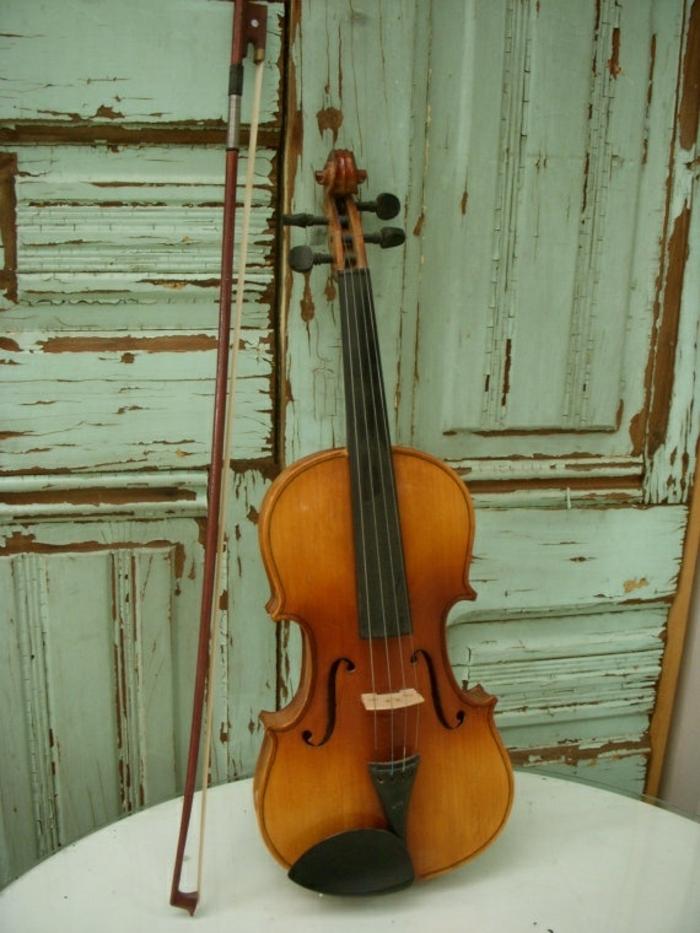 vintage-Violine-teuer-wertvoll-Reliquie