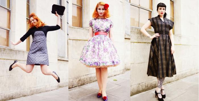 vintage-kleider-drei-super-bilder