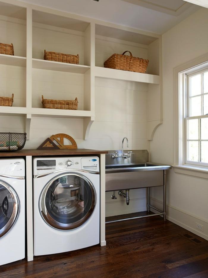 Waschbecken Für Waschküche Einfache Und Praktische Ausstattung