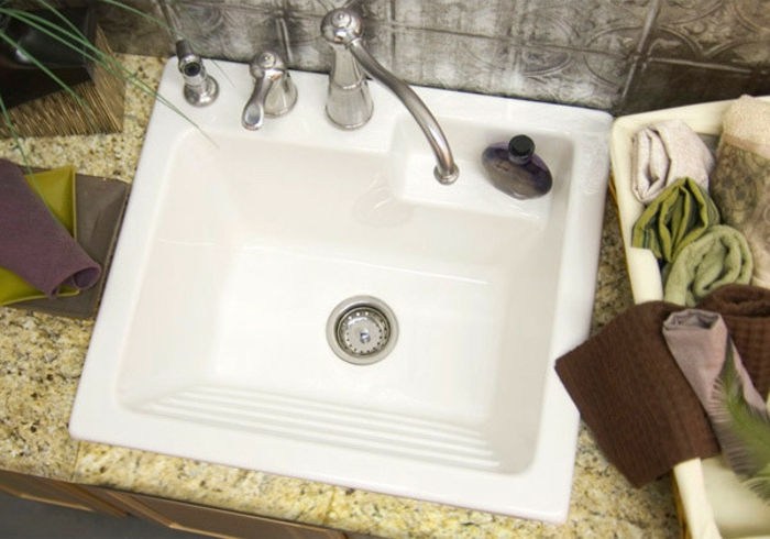 Waschbecken Waschküche Möbel design Idee für Sie