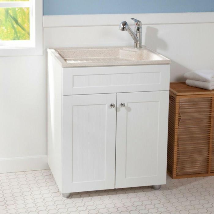 waschbecken-für-waschküche-weiße-farbe