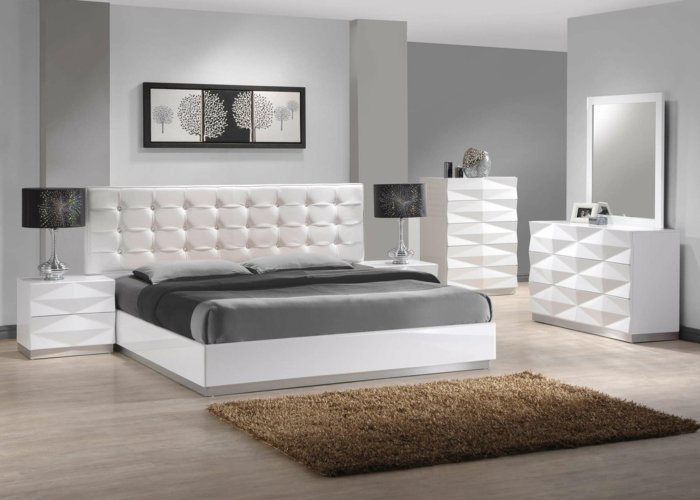 moderne m bel schlafzimmer. Black Bedroom Furniture Sets. Home Design Ideas