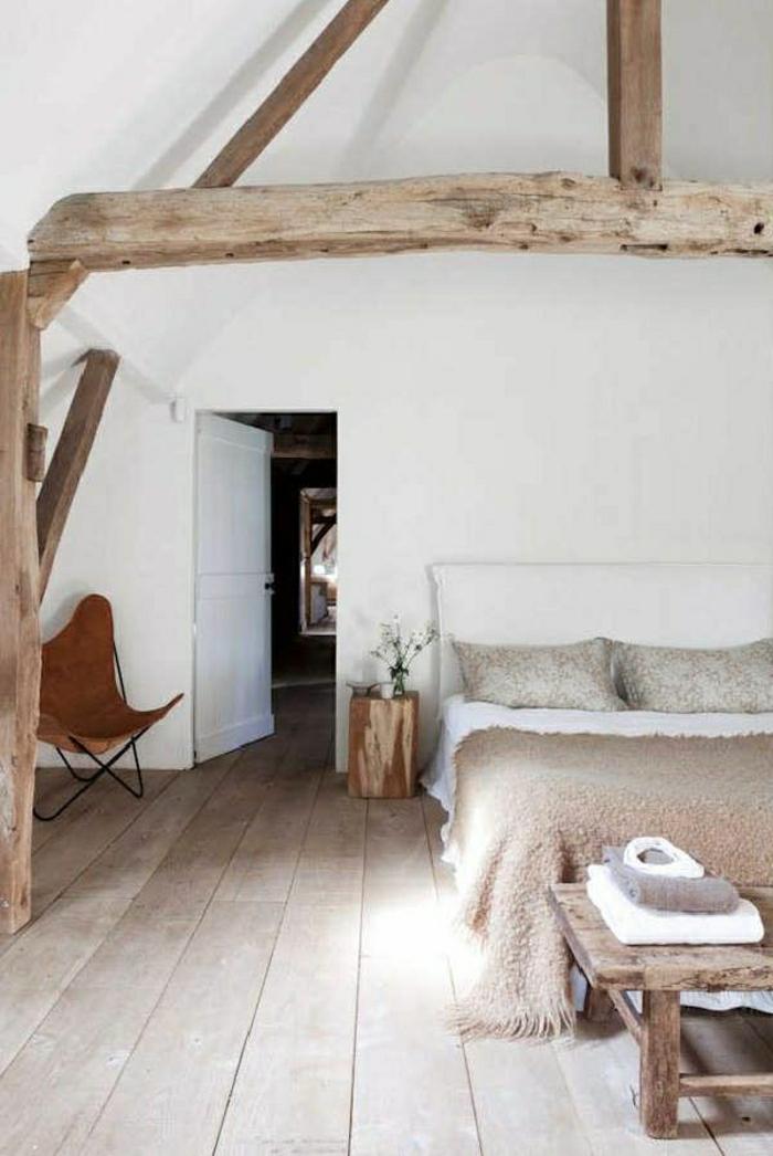 weißes-Schlafzimmer-rustikale-Möbel-