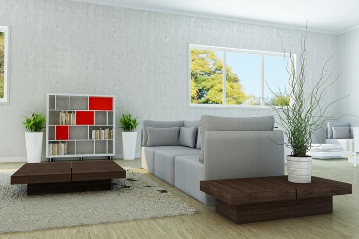 wohnzimmer inspiration grau : Wunderschönes Wohnzimmer in Grau ...