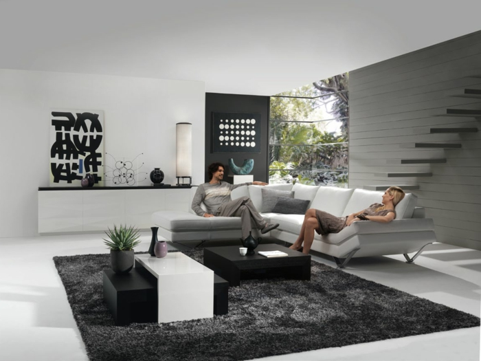 wohnzimmer grau farbe die neueste innovation der. Black Bedroom Furniture Sets. Home Design Ideas