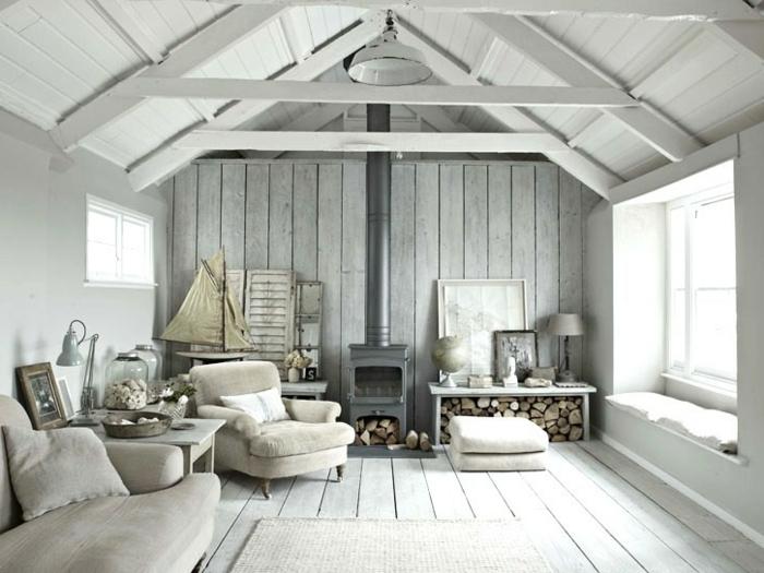 Wohnzimmer In Grau Super Cooles Haus