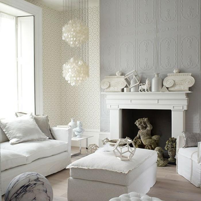 wohnzimmer-in-grau-weißer-kamin