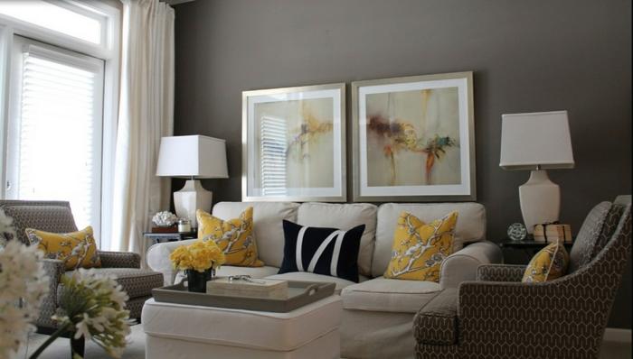 wohnzimmer-in-grau-zwei-schöne-bilder