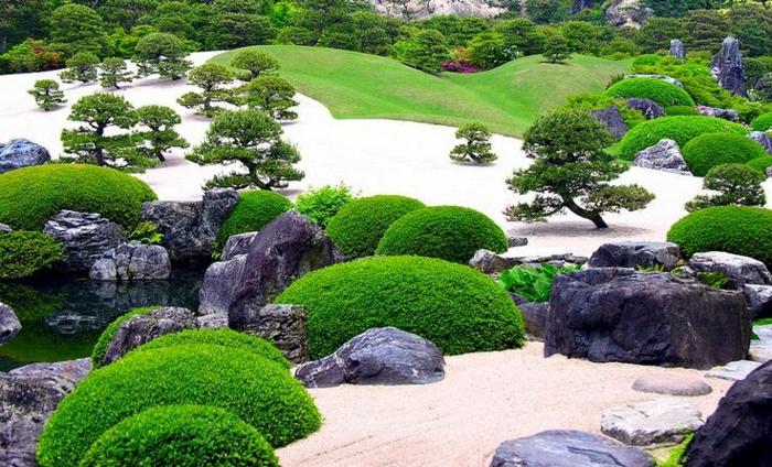 Adachi-Zen-japanischer-Garten-Japan