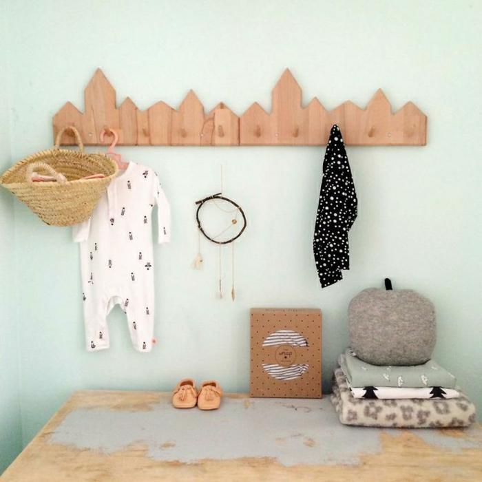 Babykleider-Korb-Schlafdecken-Traumfänger-Schuhe-Brett-Kleiderhaken-Häuser-Form