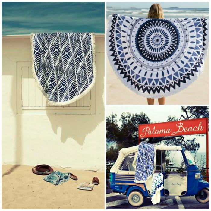 Boho-Stil-Strandtücher-cool-stilvoll