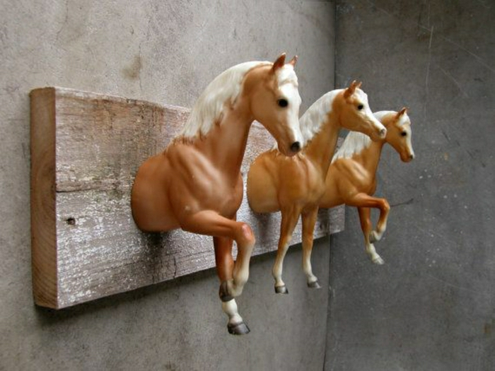 Brett-Pferde-Haken-originelle-Idee