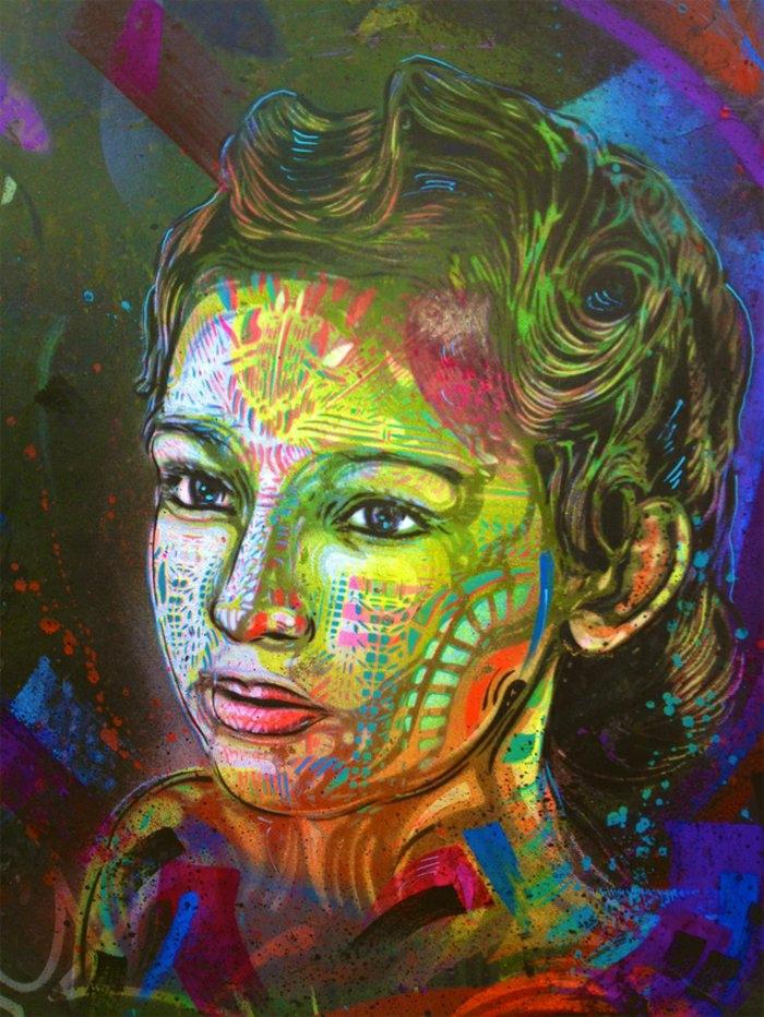 C215-Graffiti-Künstler-street-art-schöne-Zeichnung-Frau