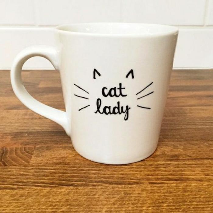 Cat-Lady-personalisierte-Geschenke-Kaffeetasse-süß