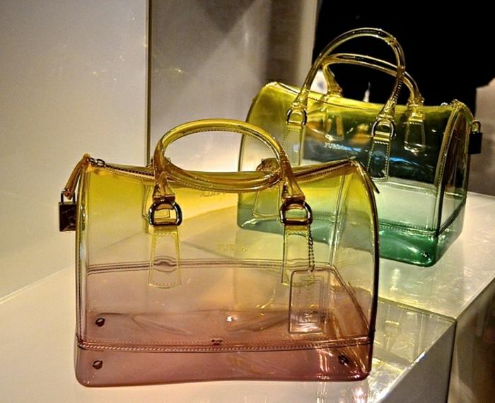 Furla-Candy-Taschen-durchsichtig-rosa-aqua-Nuancen-modern-schick