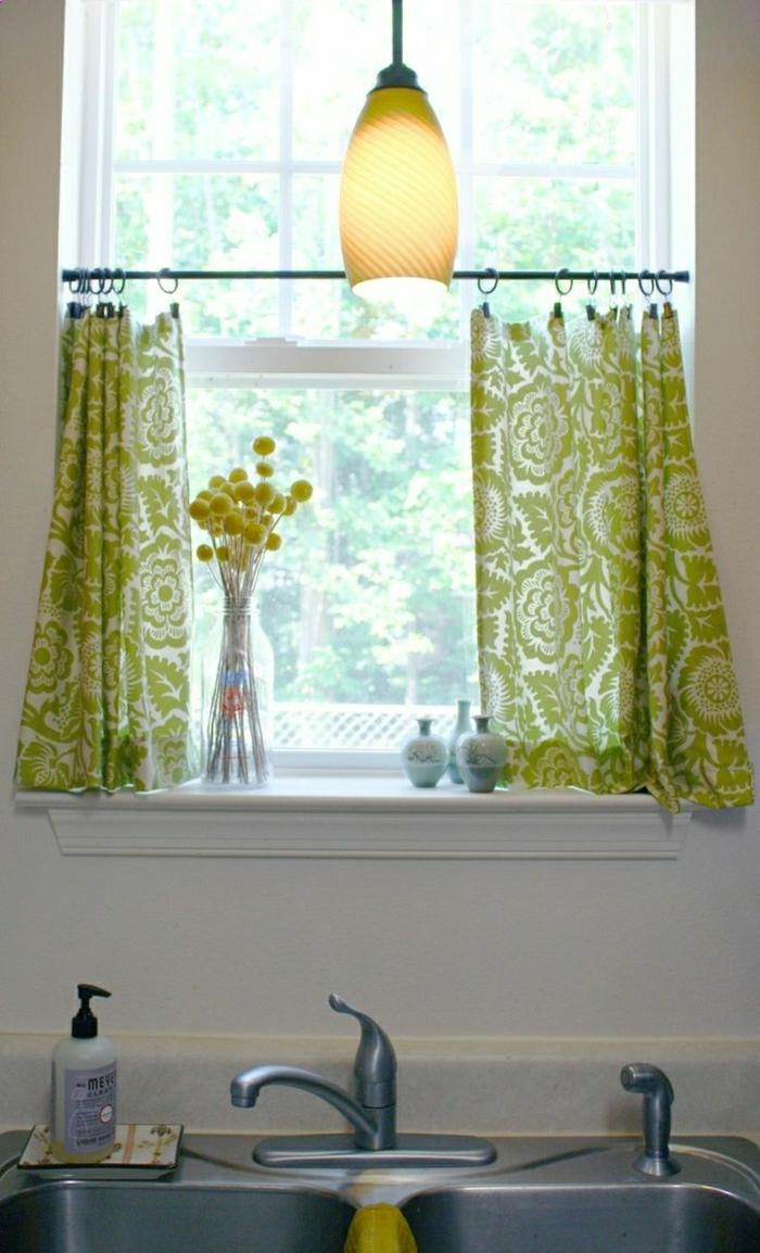 Küchenfenster Vorhänge With Gardinen Und Sonnenschutz Also Fenster ...