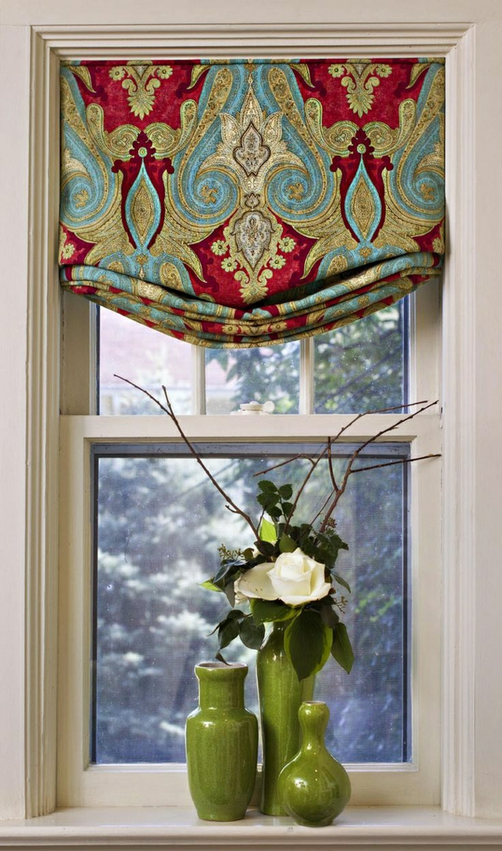 Gardinen-für-kleine-Fenster-königliches-Muster