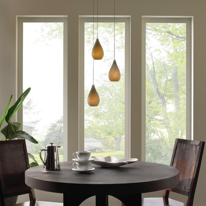 Tolle designs von h ngeleuchten f r esszimmer - Ideen fur esszimmer design stilvolle gestaltung ...
