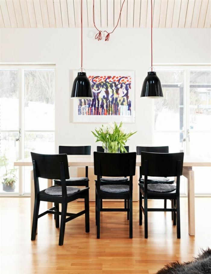 esszimmer design ideen wohnideen fur esszimmer design tischdeko ... - Rotes Esszimmer Fur Intensive Einladende Atmosphare