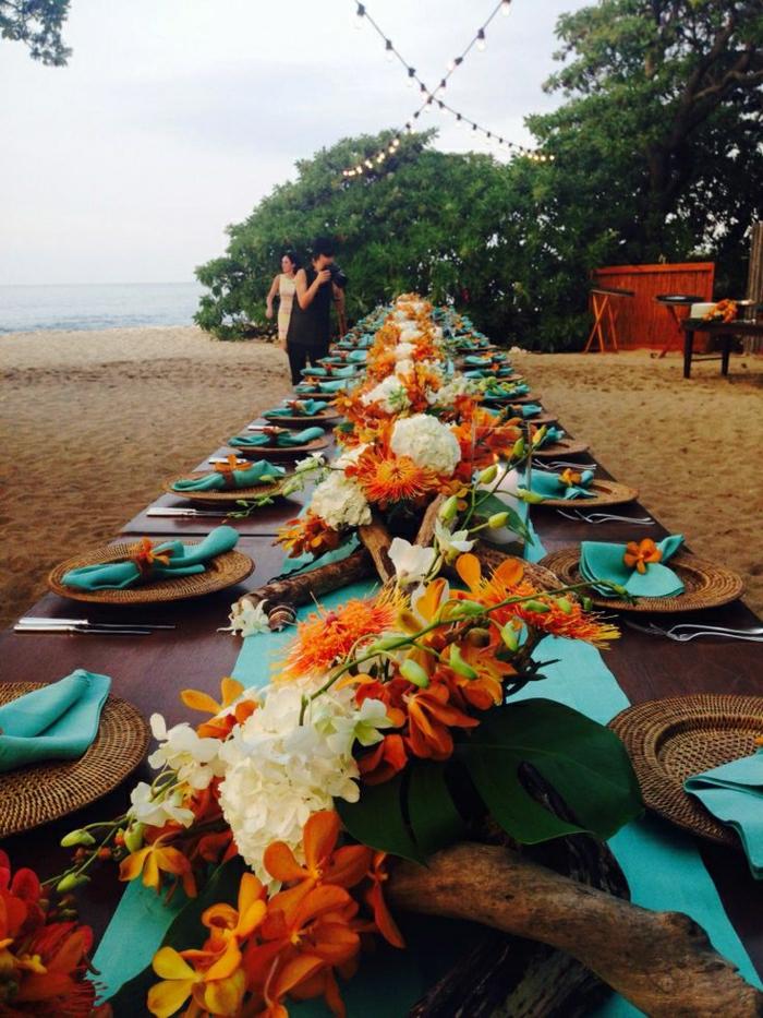 Hochzeit-Tischdekoration-Hualalai-Hawaii
