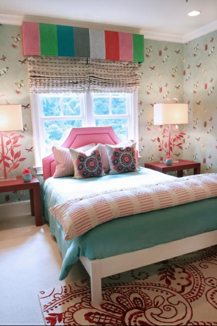 Jügenzimmer-für-Mädchen-bunte-Farben-Jalousien