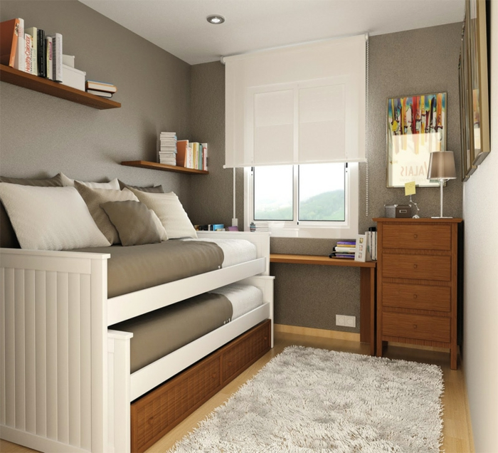 Very Small Bedroom Colour Small Bedroom Lighting Ideas Bedroom Design Cabinet Cupboards For Small Bedroom: Süße Modelle Von Jugendzimmer Für Mädchen