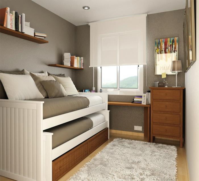 Jügenzimmer-für-Mädchen-klein-grau-Jalousie