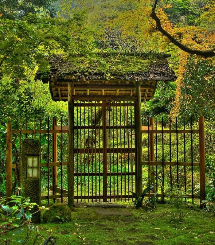 Kamakura-Japan-Zen-Garten-Türen