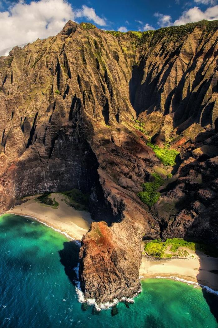 Kauai-Hawaii-Kalalau-Felsen-Strand