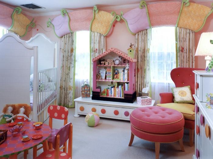 Kinderzimmer-Deko-Haus-Bücherregal